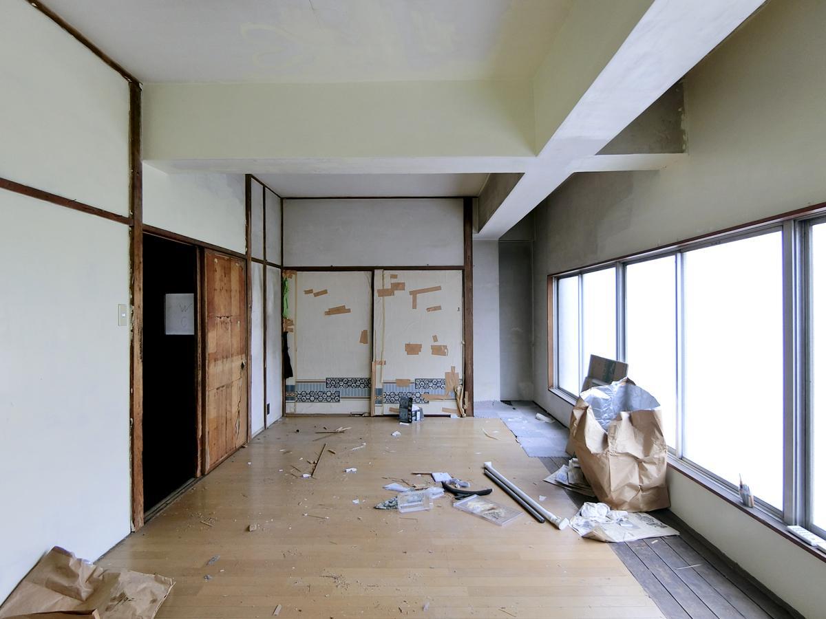 3階:窓の位置が低く、開けるとあぶなそう