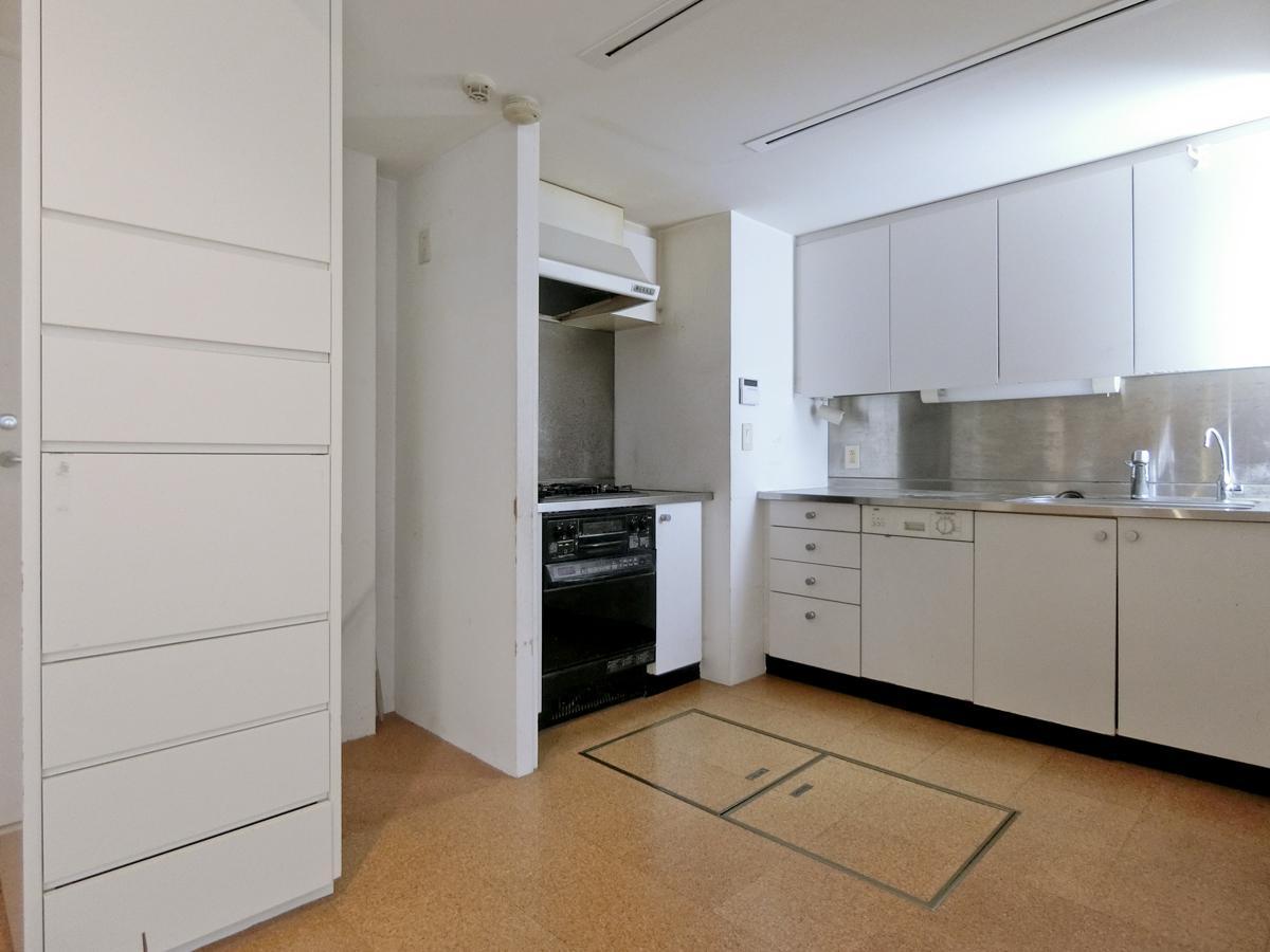 地下1階:キッチン周辺も使いやすそう