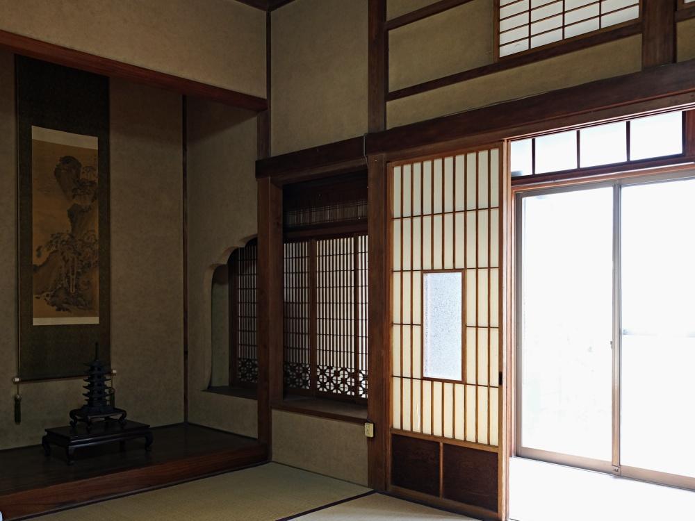 客間よりは古さが感じられますが和室の雰囲気も良い