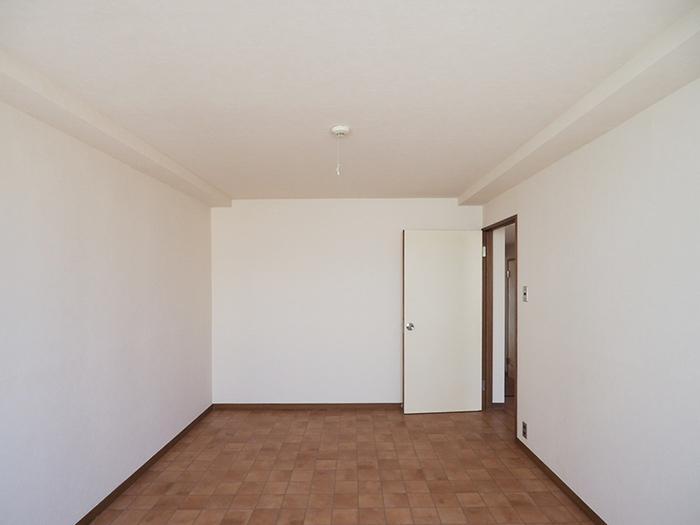 7畳の洋室はすっきりとしたつくり