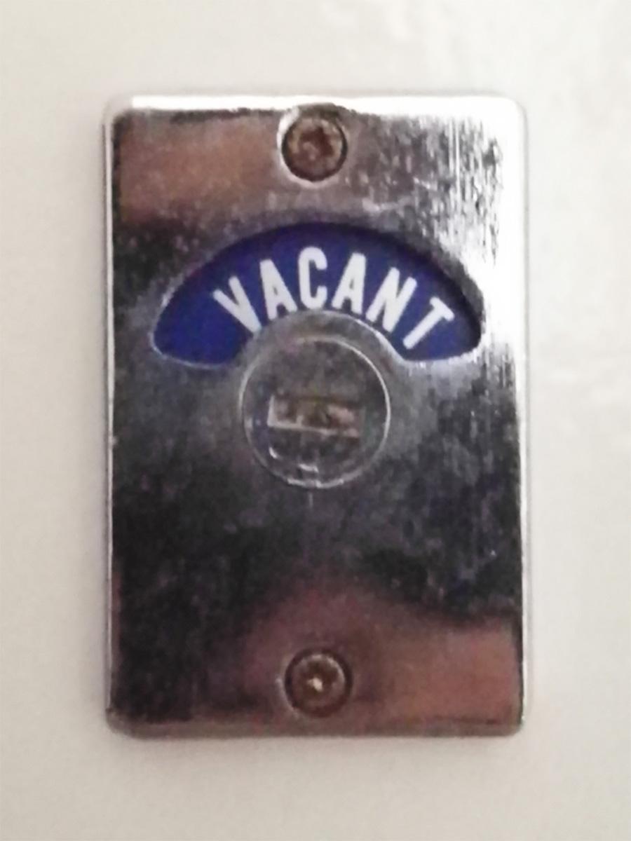 トイレの鍵もかわいい