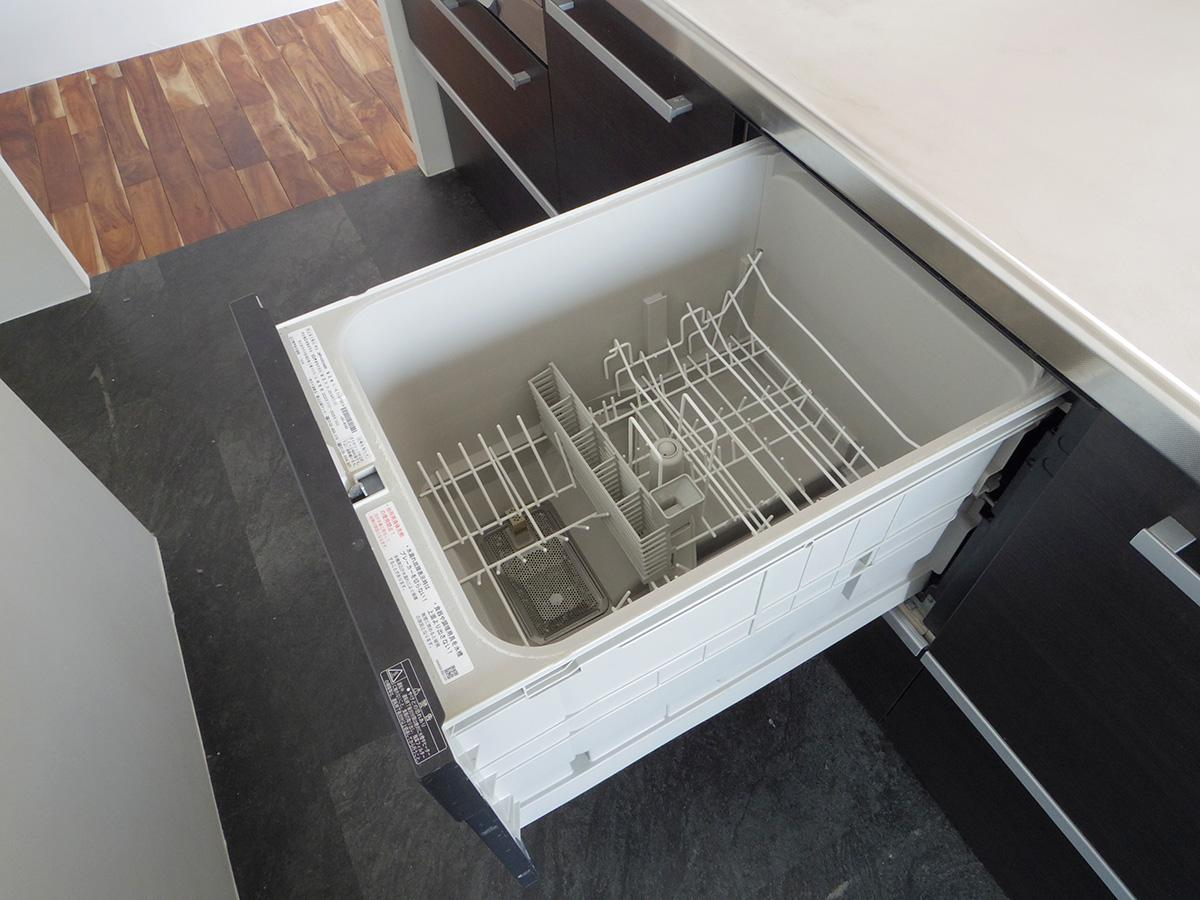 食洗機が備え付けなのもうれしい!