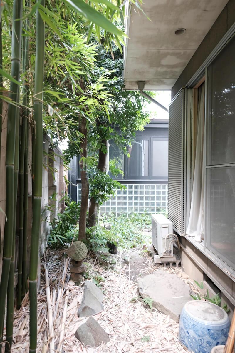 1階:ちょっとした庭