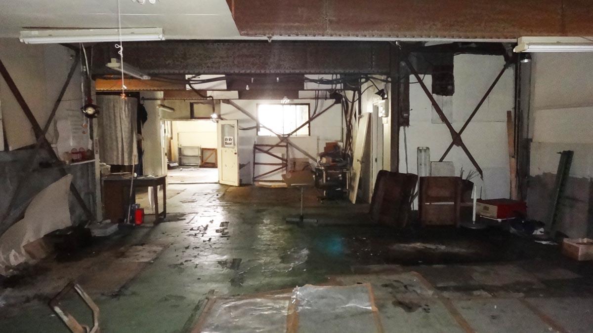 逆側から撮影(1階)