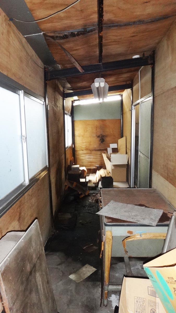 1階部分の収納スペース(面積外)