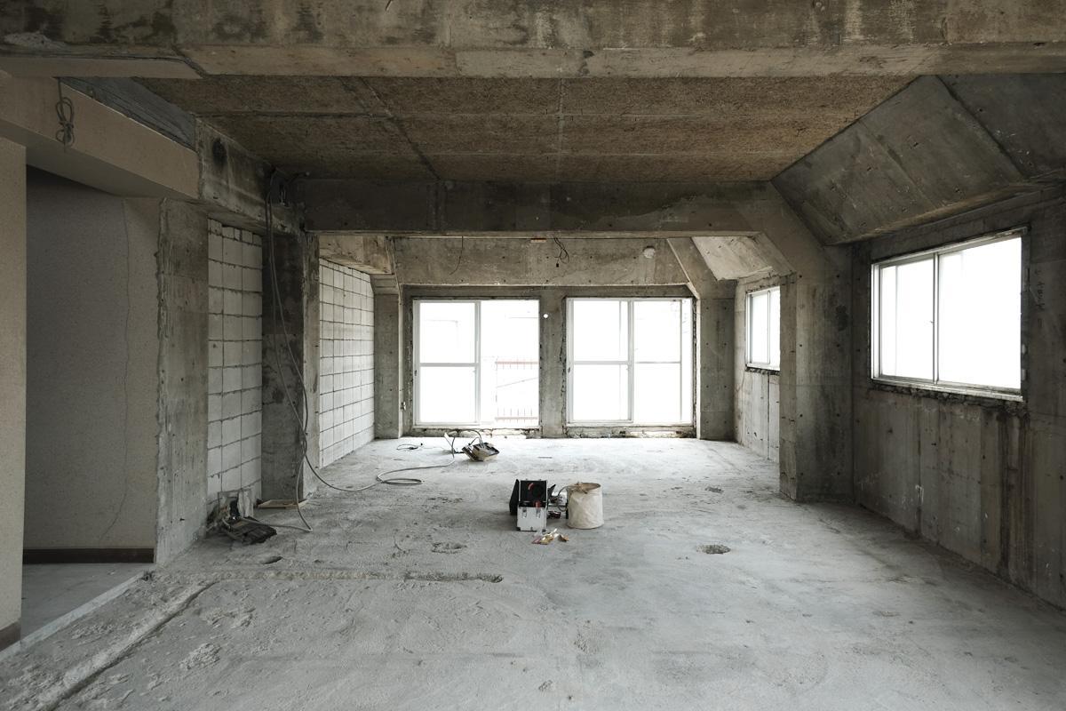 301号室、201号室は同じ間取り、広さになる予定