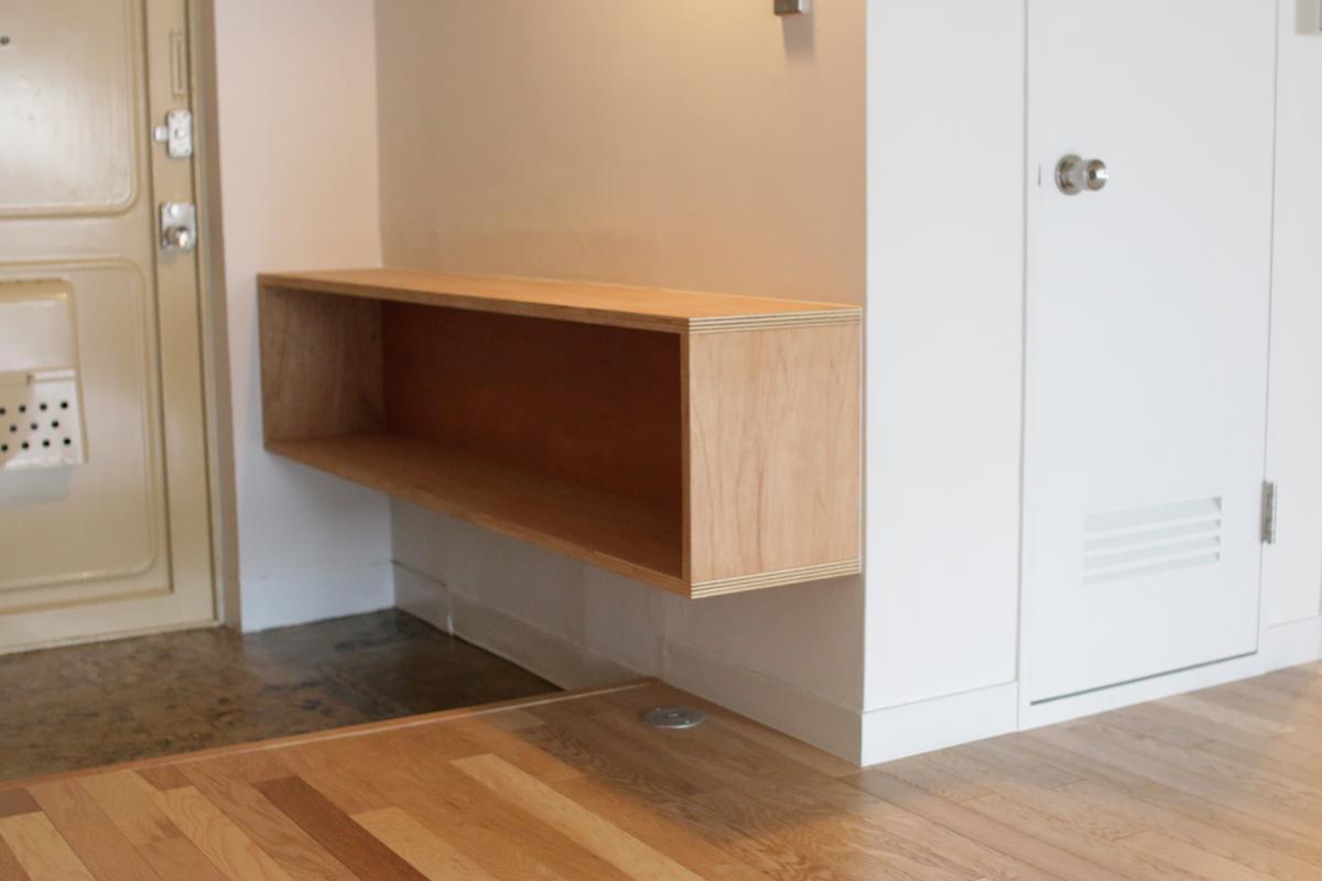 (405号室)造作収納のある玄関周り