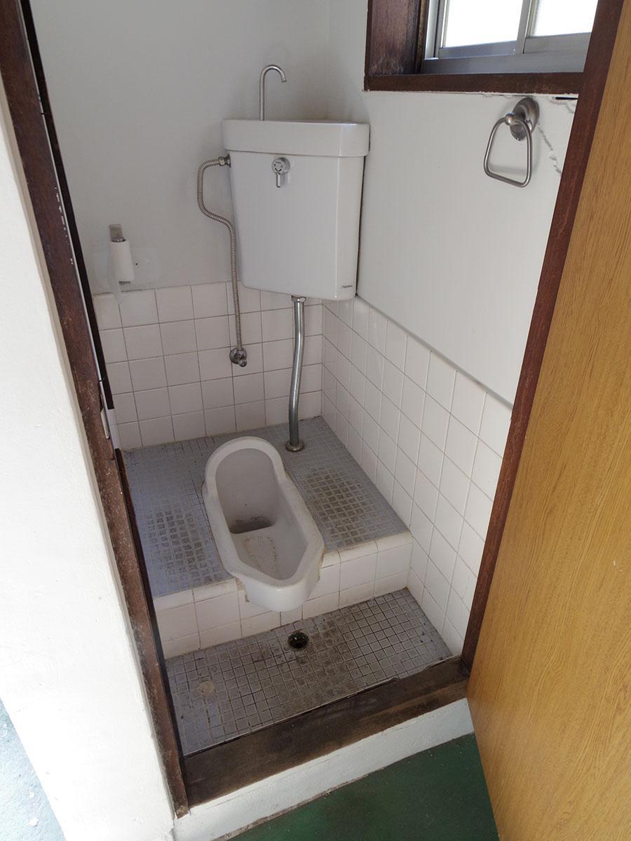 残念なことにトイレは和式・・・ここだけは手を加えたいですね