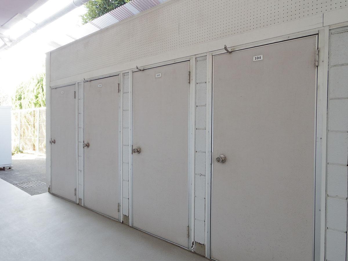 トランクルームが1区画無料で付いてきます