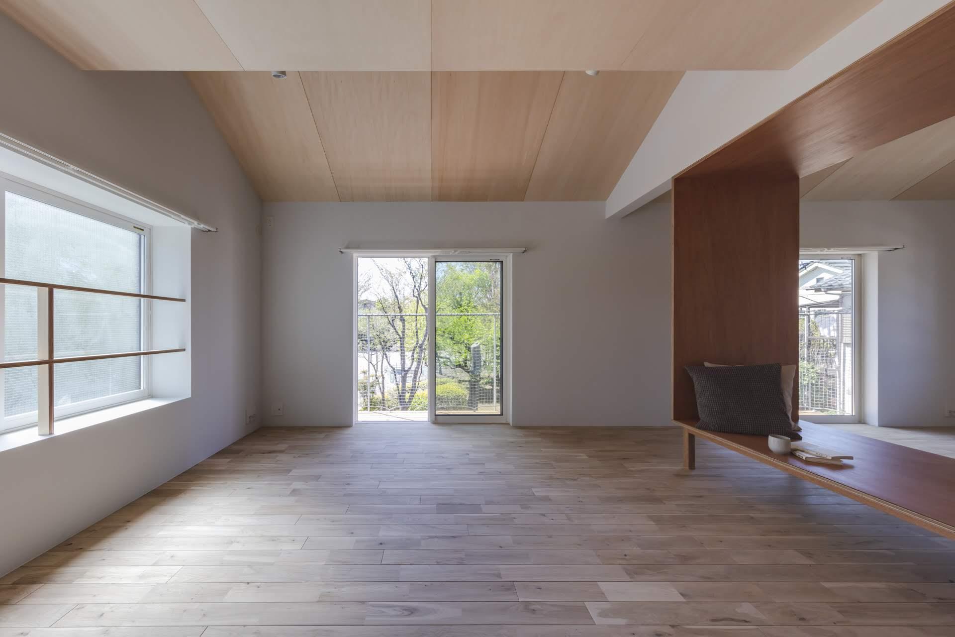 2階居室からも緑VIEW(撮影:高橋菜生)