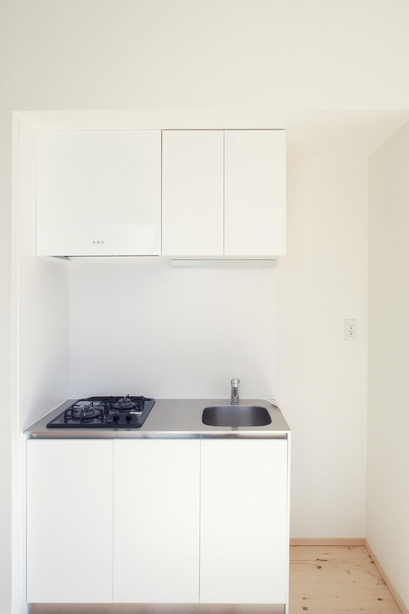 キッチンは、シンプルなもの