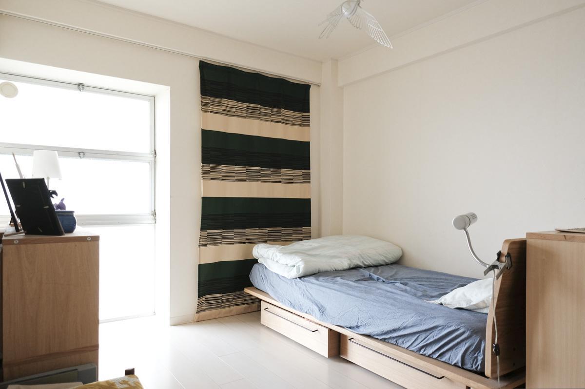 北東側の寝室