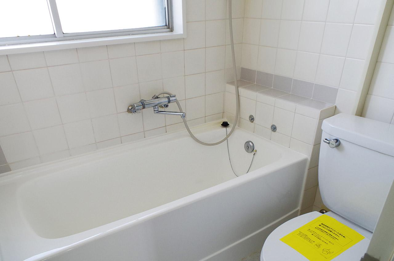 窓付きの浴室・トイレはホテルライクです