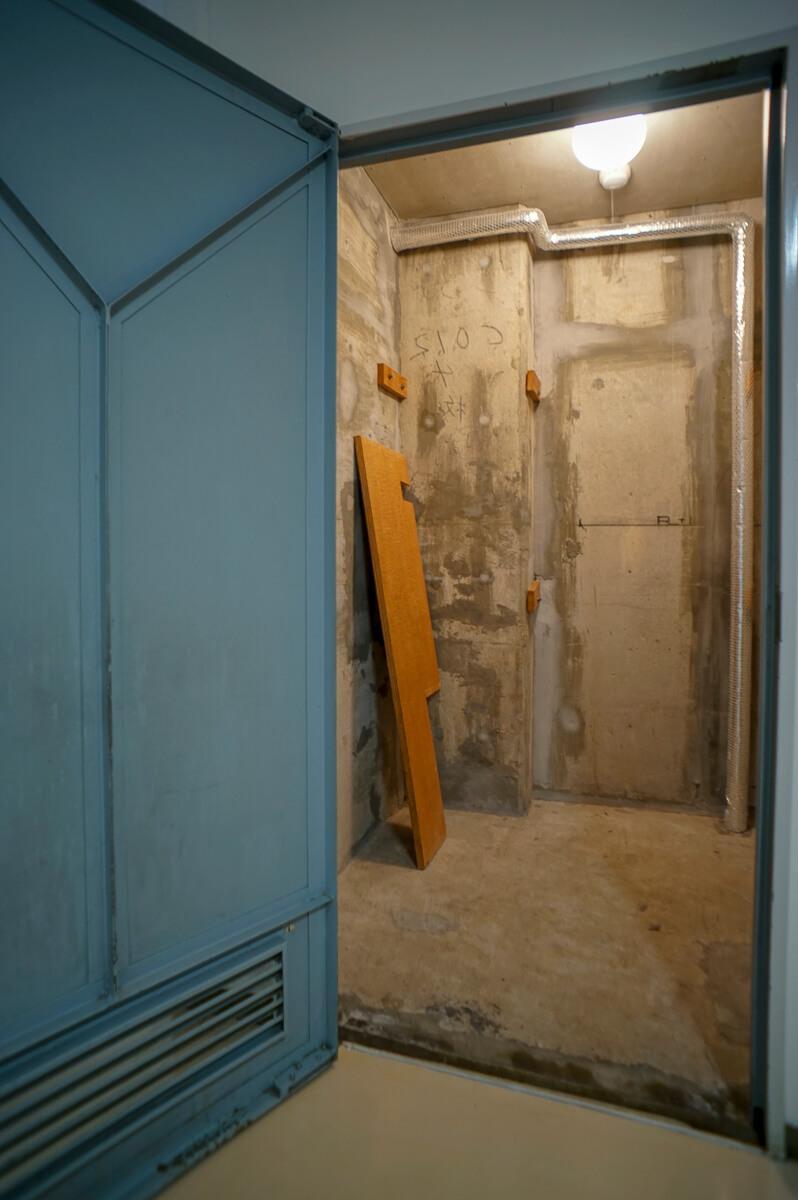 トランクルームは1畳ほど