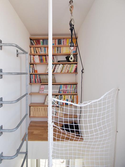 秘密の読書部屋がつくられている