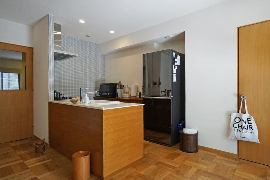 キッチンは細部までこだわったデザイン。使い勝手も良さそう