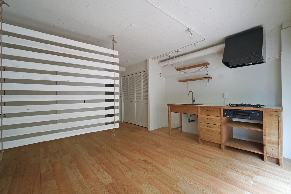 家具屋さんでもある工務店さんがオリジナルで造作したキッチン