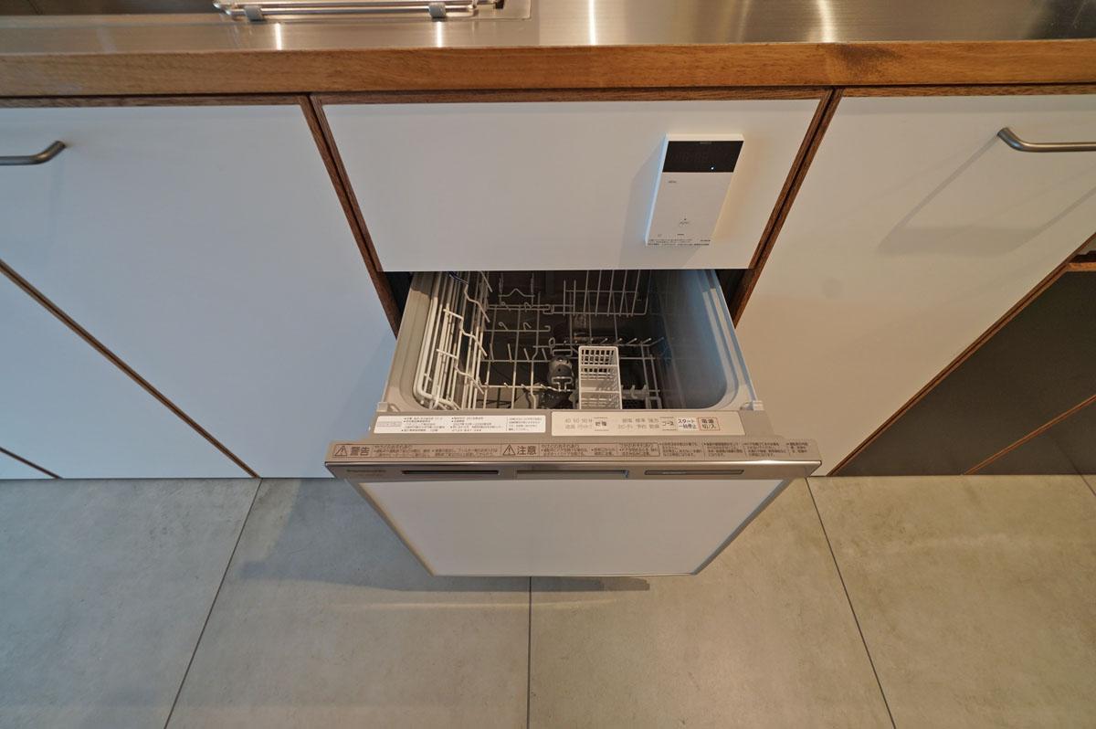 忙しい毎日に嬉しい食器洗浄機