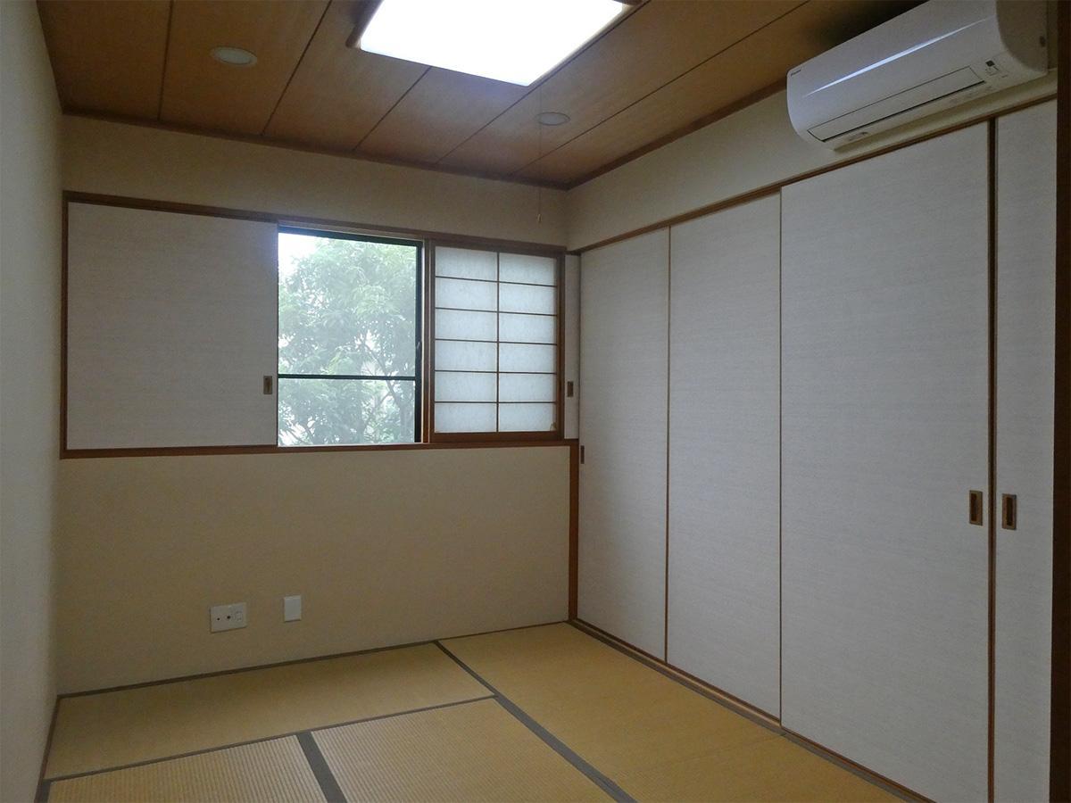 2階の6畳の和室