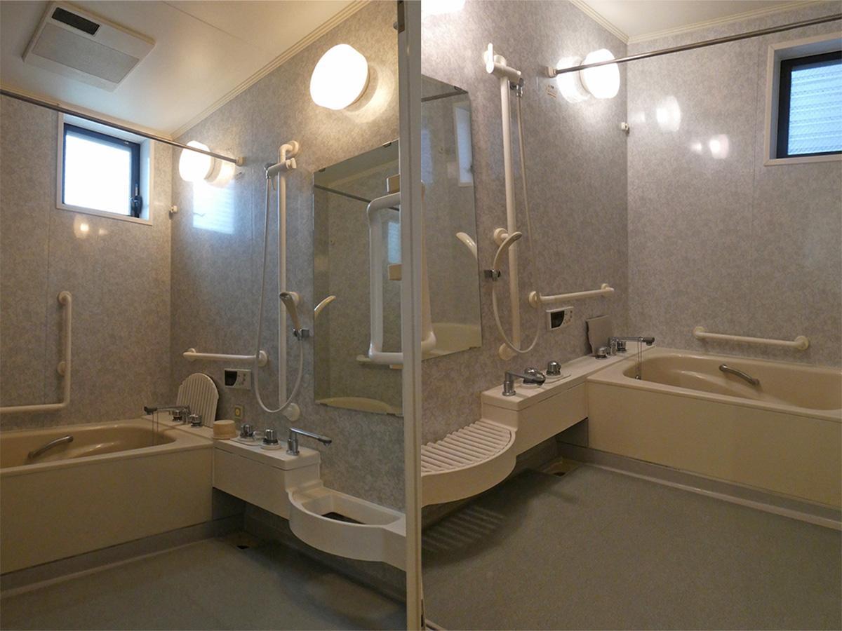 お風呂。2階 1階