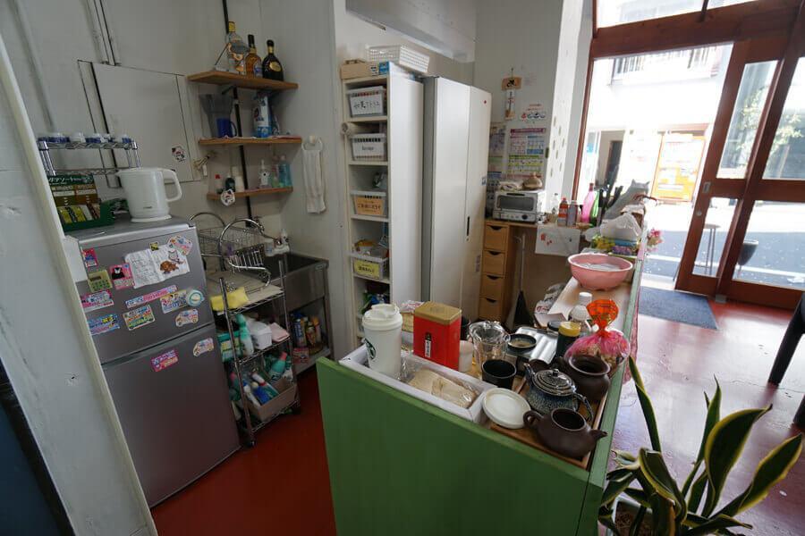 共用のキッチン