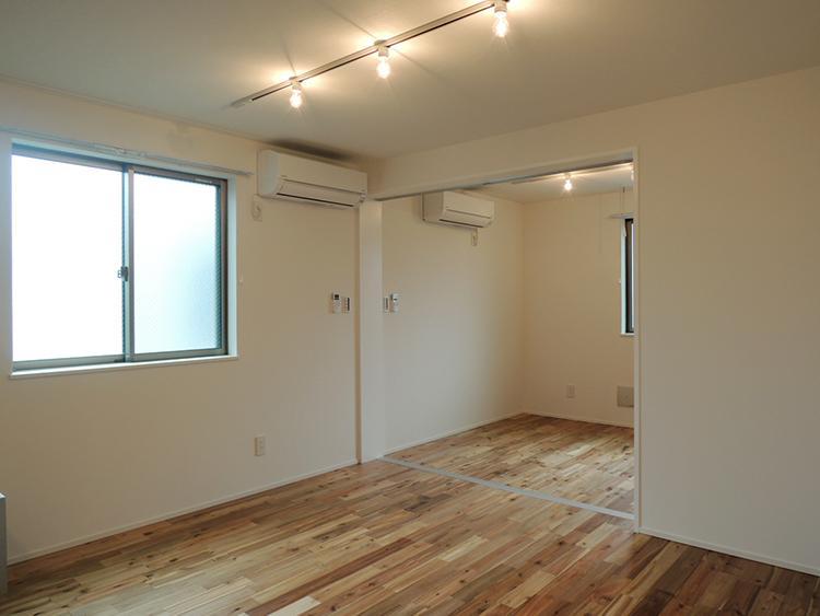 2階E号室 DKと洋室は引き戸で仕切れます