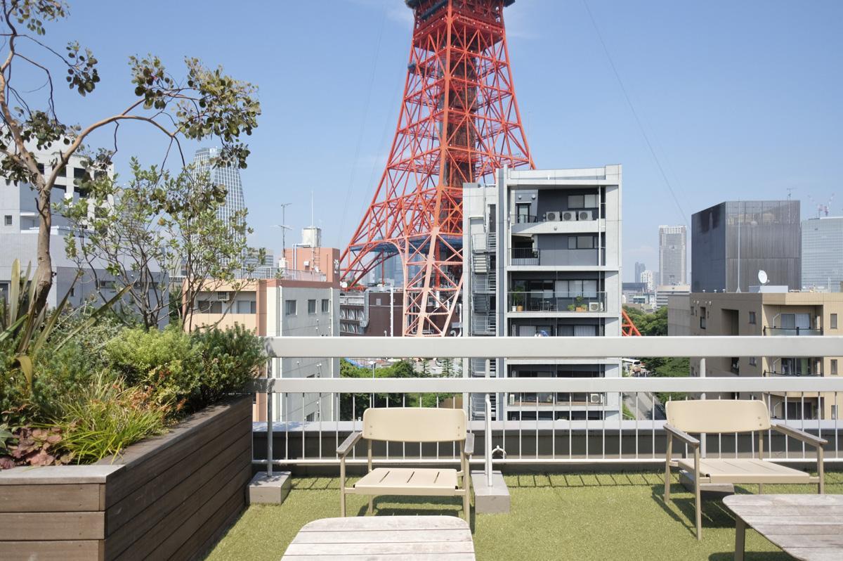 東京タワーが目の前!