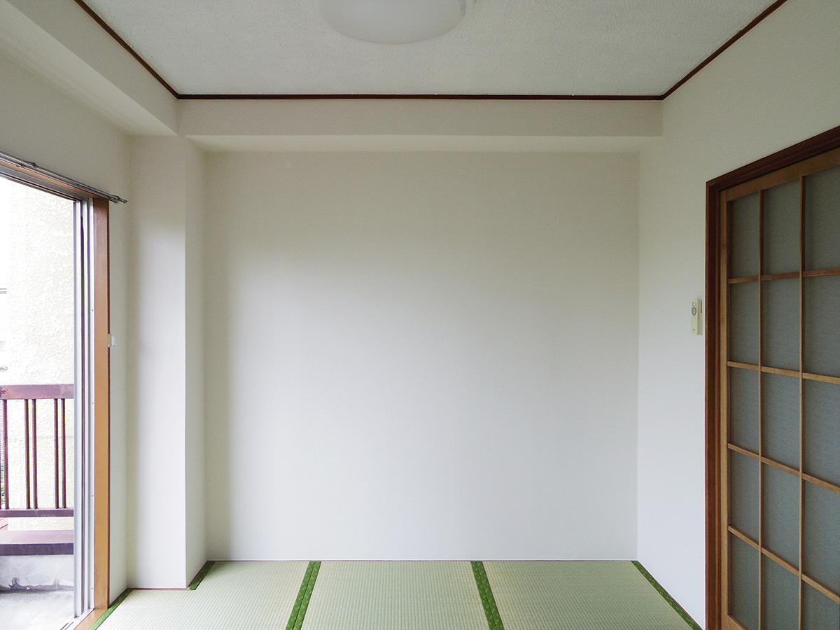 西側の和室