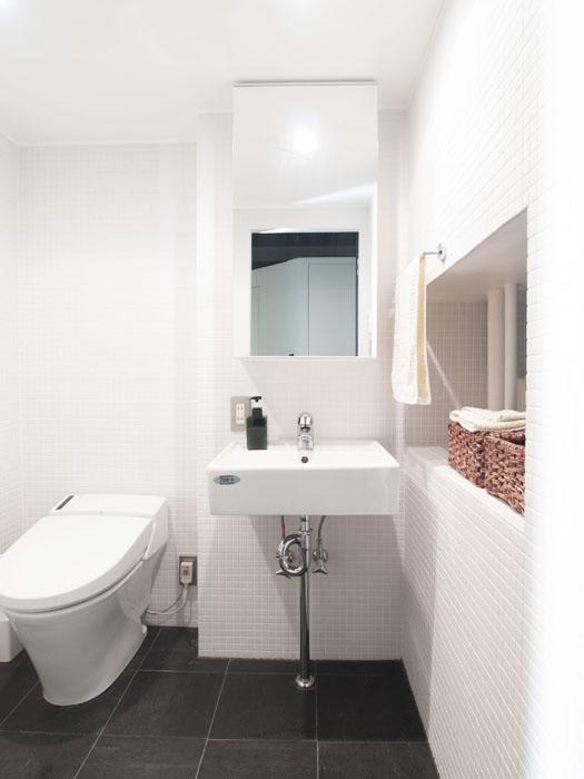 トイレと洗面は浴室と同室のつくり