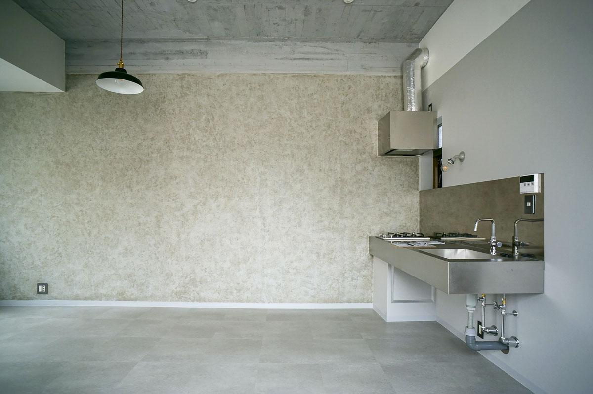 302:ステンレスのキッチンがかっこいい