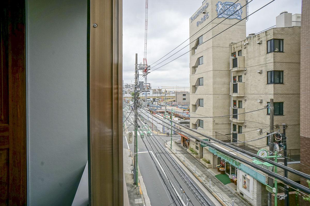 302:南側窓からの眺望
