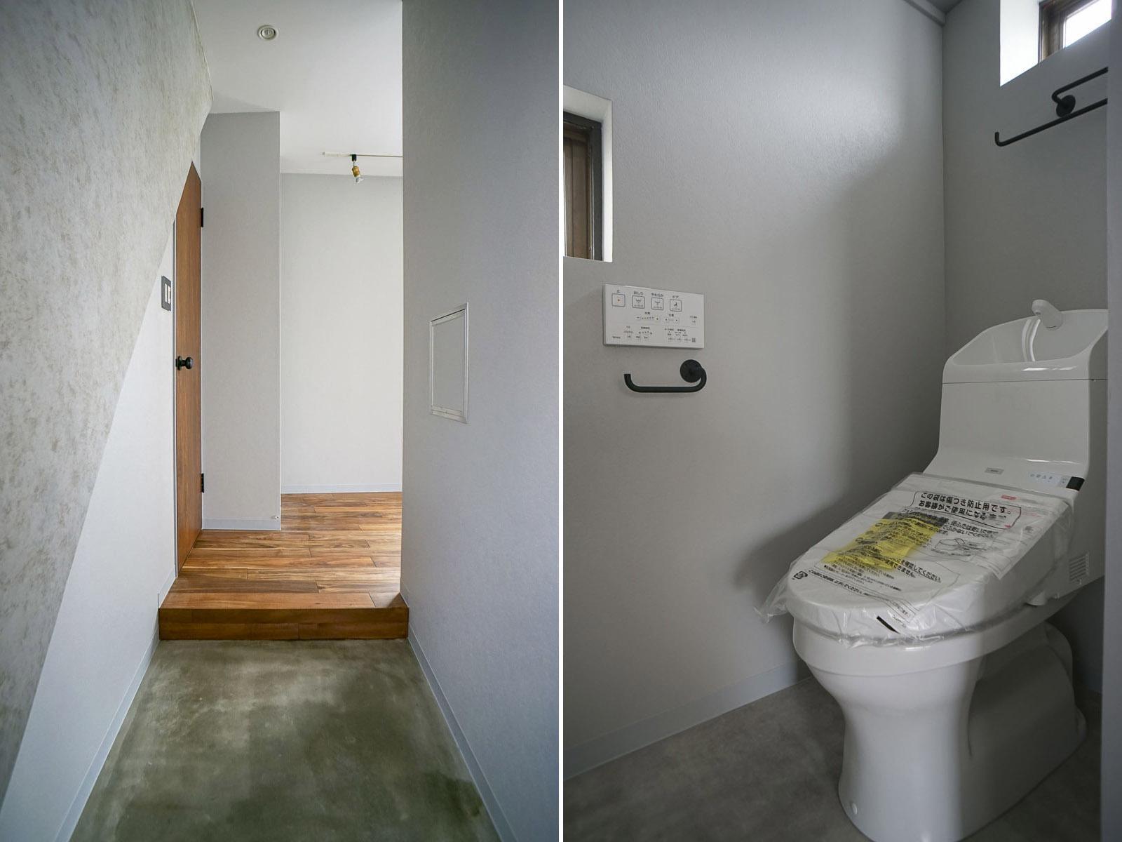 302:玄関 トイレ
