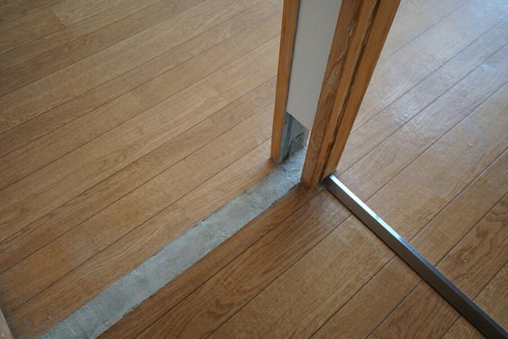 床の仕上もさまざま