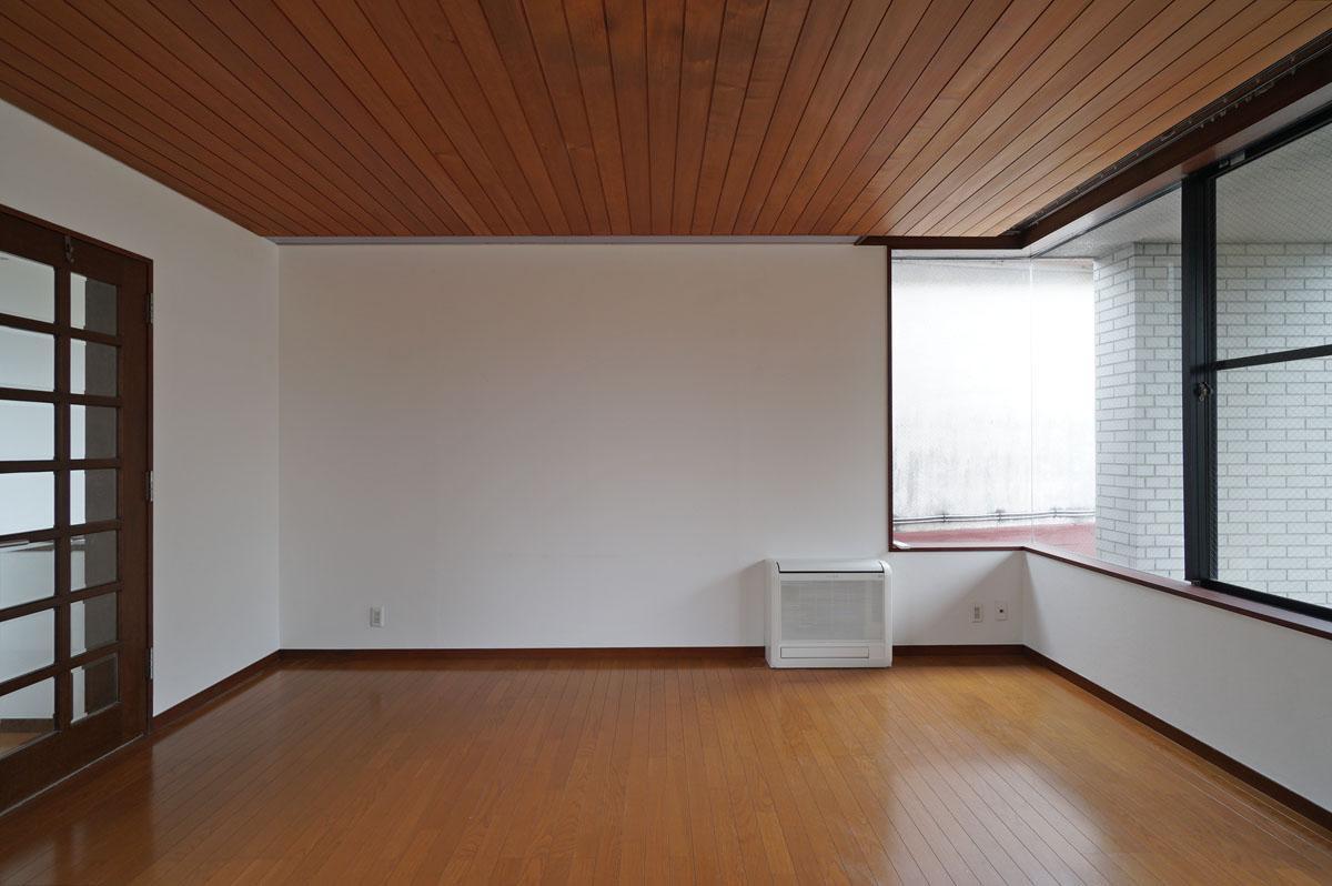 この天井の板張りの雰囲気が素敵です