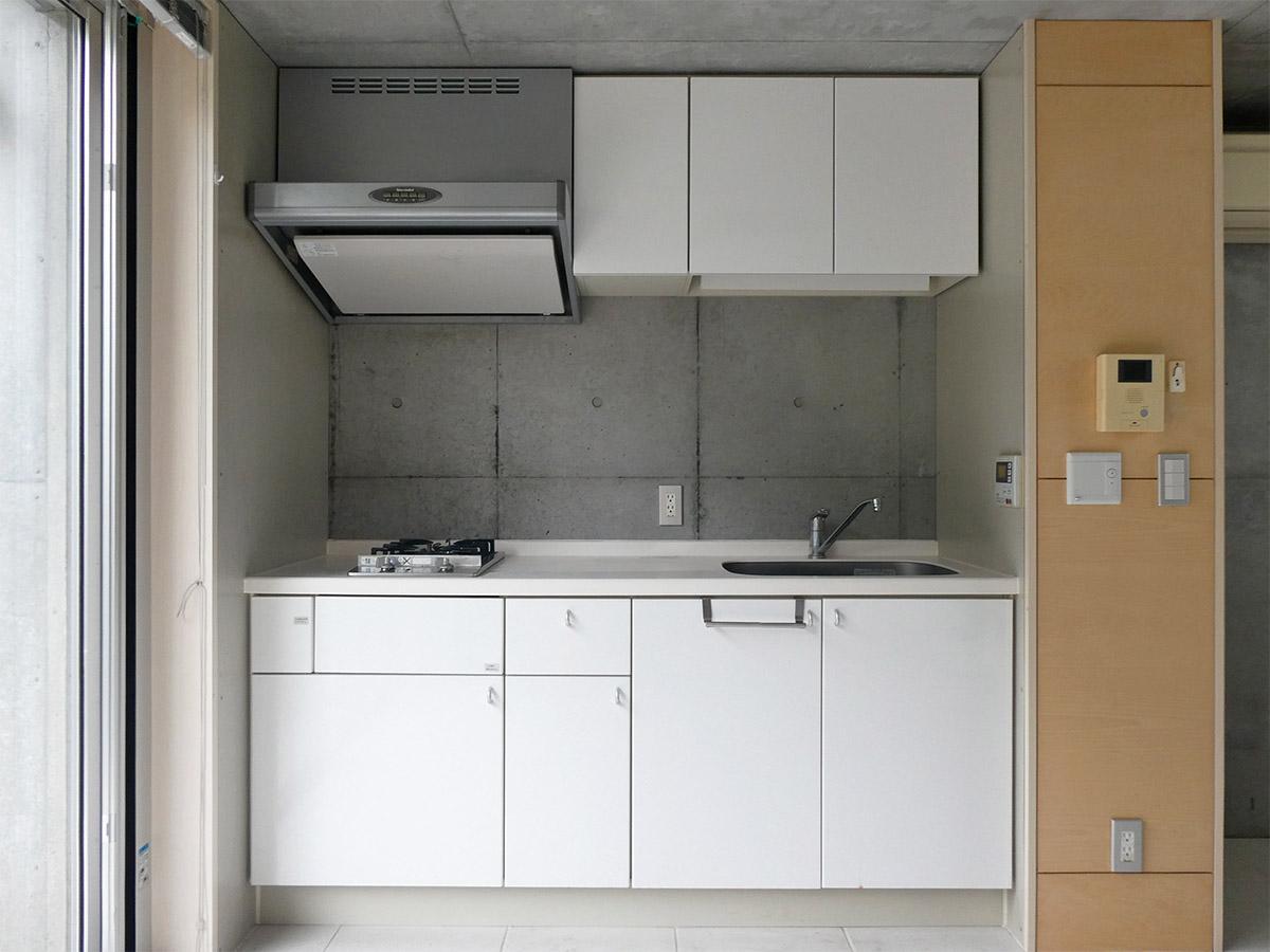 キッチンはガスコンロ2口