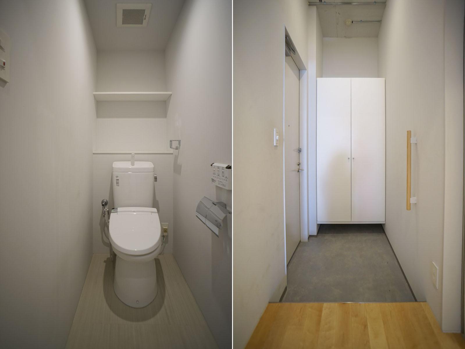 トイレ/玄関