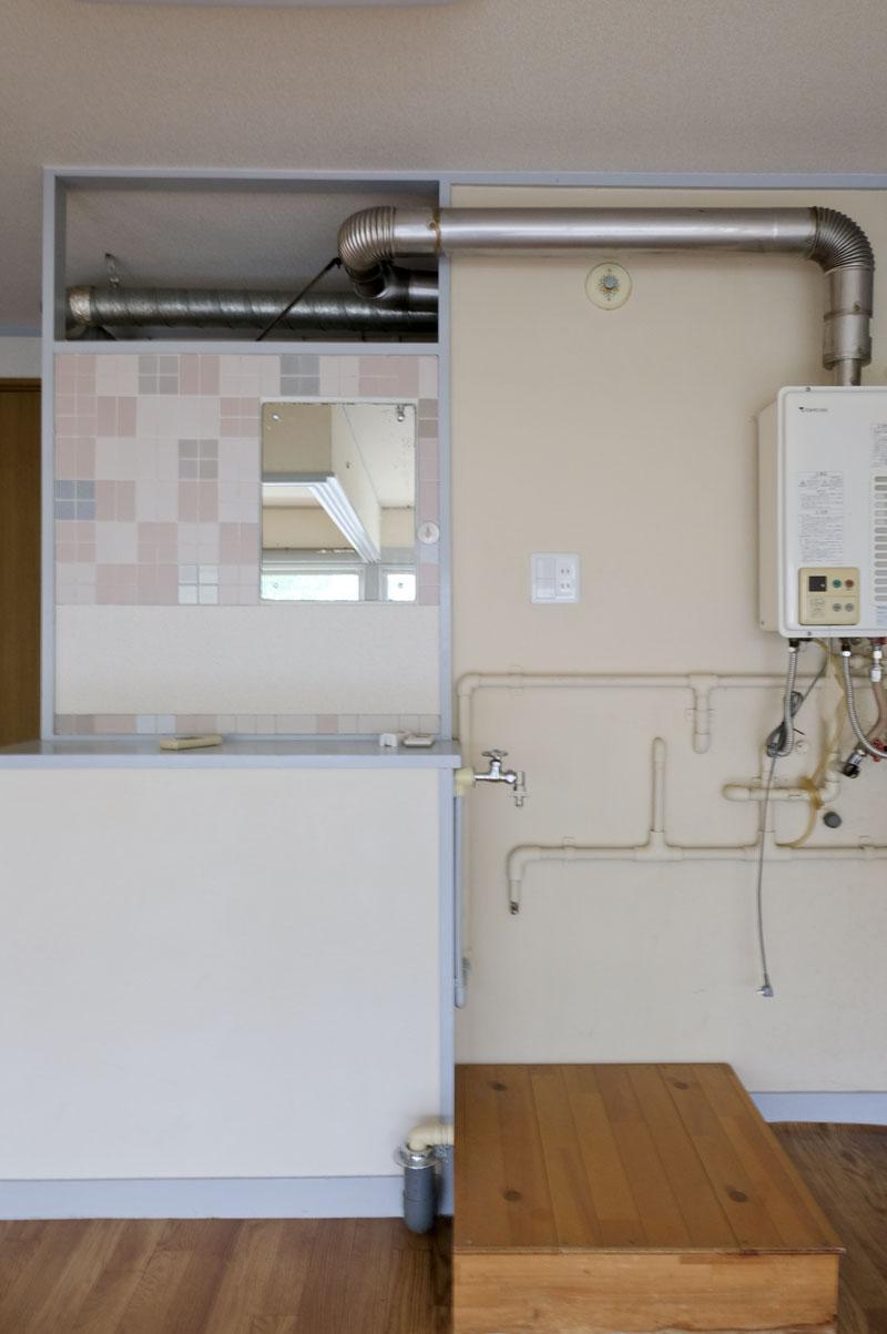 1B:右側は洗濯機置き場