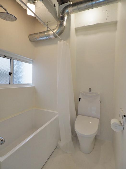 浴室・トイレ・洗面が一室にまとめられている