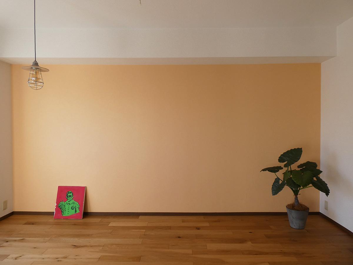オレンジ色の壁紙部分はこちら