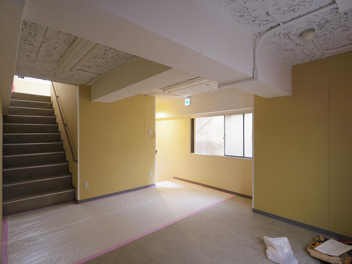 中2階。雰囲気は屋根裏部屋