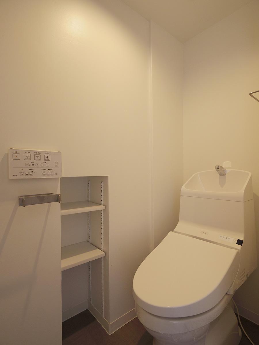 トイレはクリーンな空間