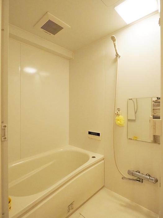 浴室は追いだき機能付き