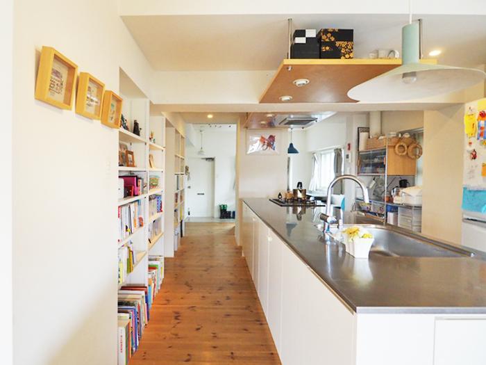 キッチンを囲む、おだやかな時間 (大田区南馬込の物件) - 東京R不動産