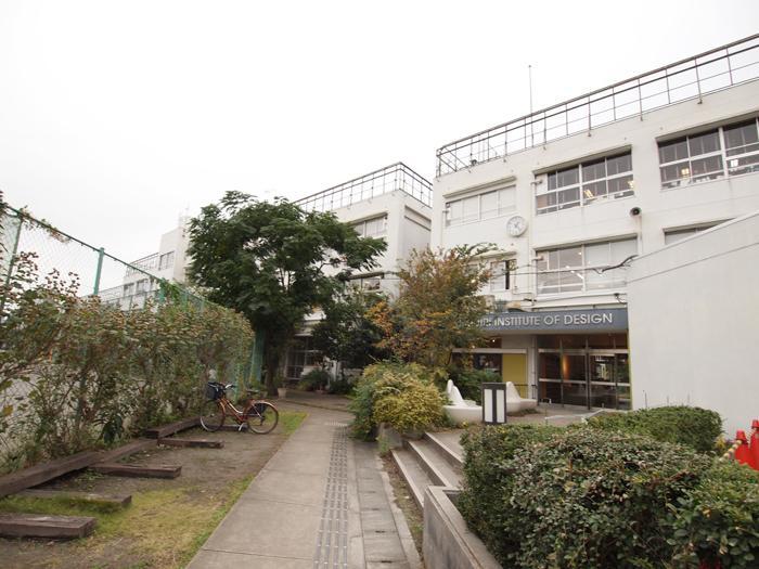 校舎の面影もそのまま。