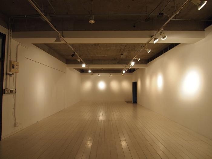 ギャラリースペース。
