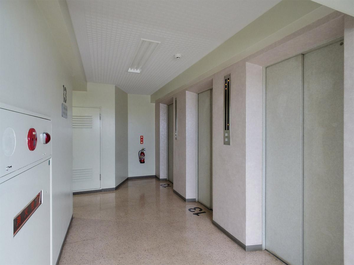 エレベーターは3基あるので、朝の込み合う時間帯でも安心