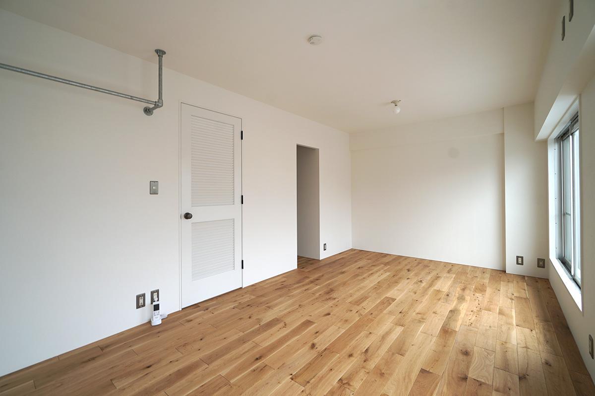 将来的には中心で2部屋に分けることも可能です