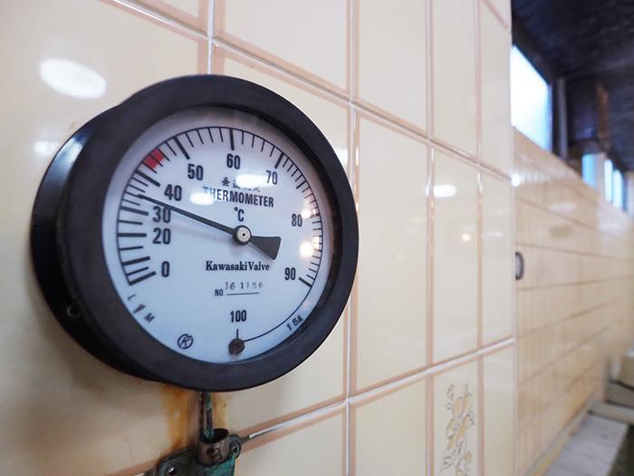 温度計がそのまま残るのもなかなかチャーミング
