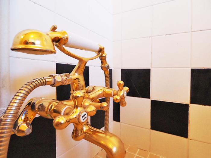 こだわりのシャワーや水栓