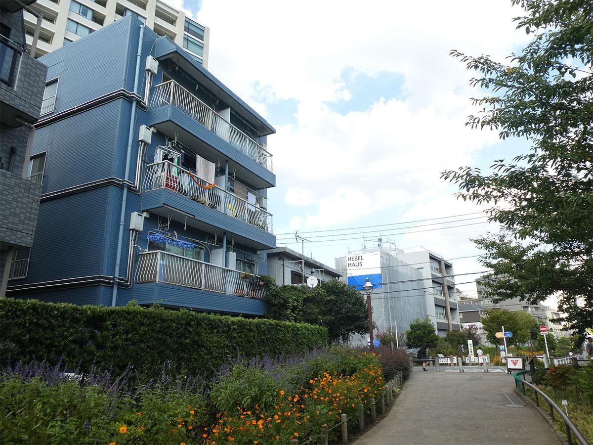 緑道沿いのワンルーム (世田谷区池尻の物件) - 東京R不動産